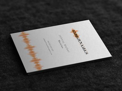 Sounddynamics Biz card