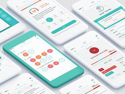 Medicus ai medical ios app clean design healthcare app design healthcare design healthcare app medical reports app blood report app medical app app designer medicus