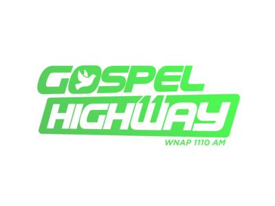 Gospel Highway Eleven Logo Design radio station music identity brand mark logo design