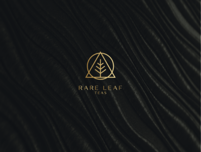Rare Leaf Teas ui web illustration flat minimal icon vector logo design branding