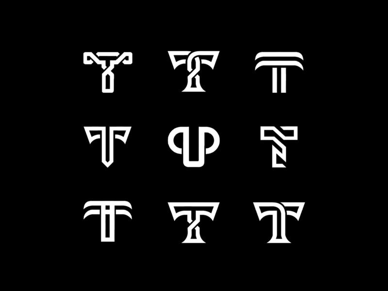 T Logo Collection concept logodesigner sketch minimalist logo mark logoinspiration logodesigns logos letters lettermark logotype letter minimal logo design logodesign icon design logo branding brand