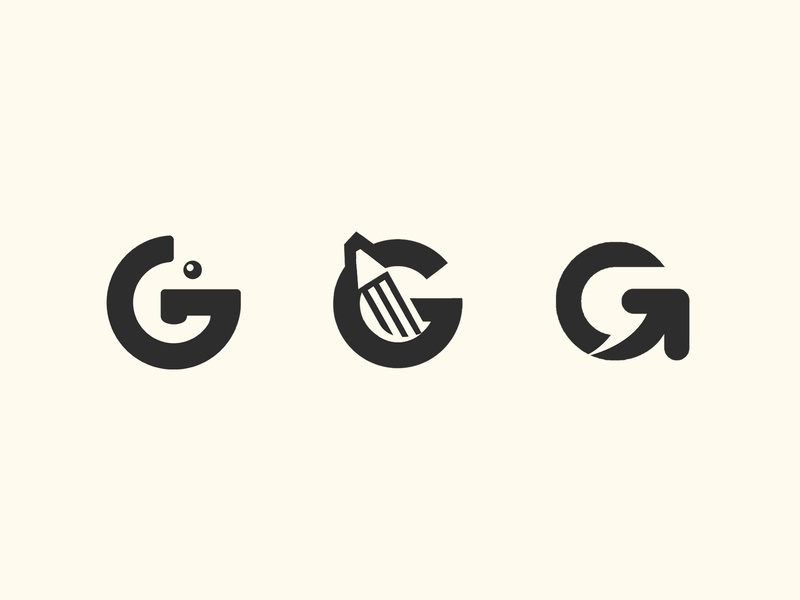 G Logo design gestalt dribbble digital font logos logo design illustrator 2d sketch simple space flat minimal logodesign illustration icon design brand logo branding