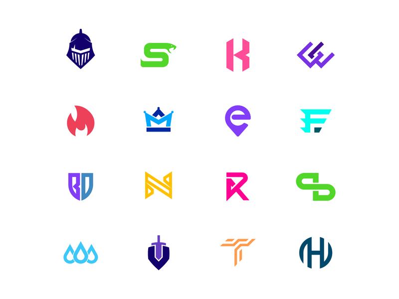 2018 Logo Collection website web vector flat logodesign branding typography icon logo brand