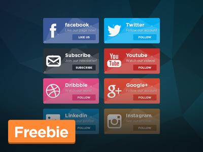 Freebie: Social Boxes
