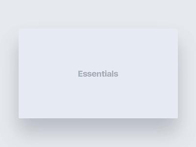 Essentials V2 Preview Page template ui branding illustration design landing page web design pixfort wordpress envato themeforest