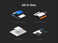 PixFort Builder Icons