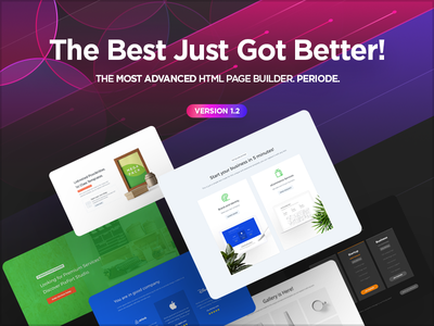 MEGAPACK v1.2 is Here! themeforest website builder html landing page envato builder pixfort web design