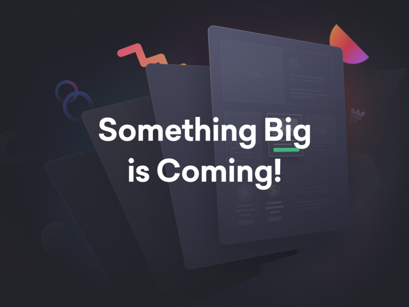 Something Big is Coming! template animated design html website builder page builder web design wordpress theme wordpress envato themeforest pixfort