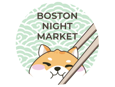 Boston Night Market 2019 Sticker Design