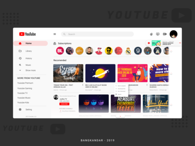 Redesign Youtube