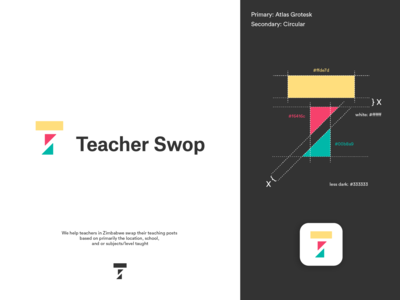 Teacher Swop Logo Concept