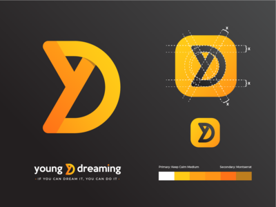 Young & Dreaming Logo Concept Proposal