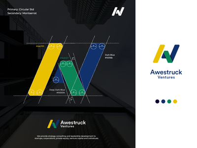 Awestruck Ventures Logo Concept