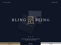 Bling Bling Logo Concept