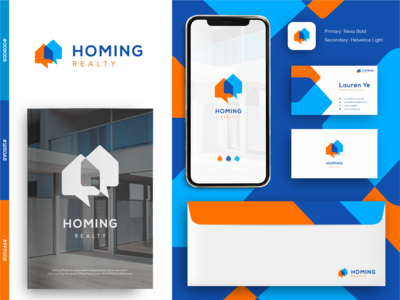 Homing Realty Logo Concept