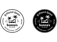 Bunnas logo bw