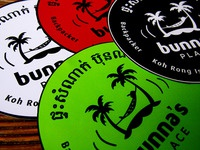 Bunna stickers large