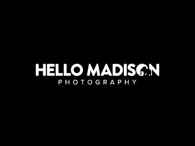 Hello Madison black blog typography graphic logo design elephant negspace white monochrome photography photo media lifestyle