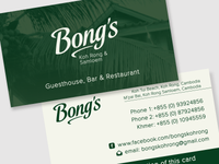 Bong's Business Card