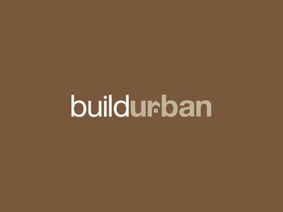 Build Urban typography type brown idea concept mark brand logo development urban build