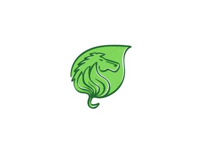 Horse Leaf purchase sale buy texture sketch elegant green mark nature leaf horse logo