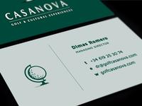 Casanova Business Card