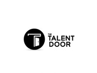 Talent door monochrome