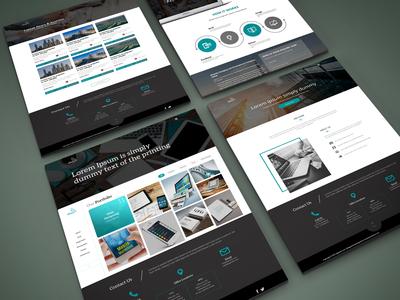 It Service Web Pages