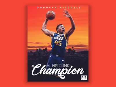 Donovan Mitchell - Slam Dunk Champion