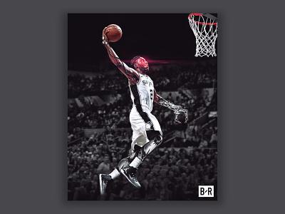 Kawhi Leonard - The Klaw san antonio toronto chad gersky jordan raptors spurs basketball nba robot kawhi leonard