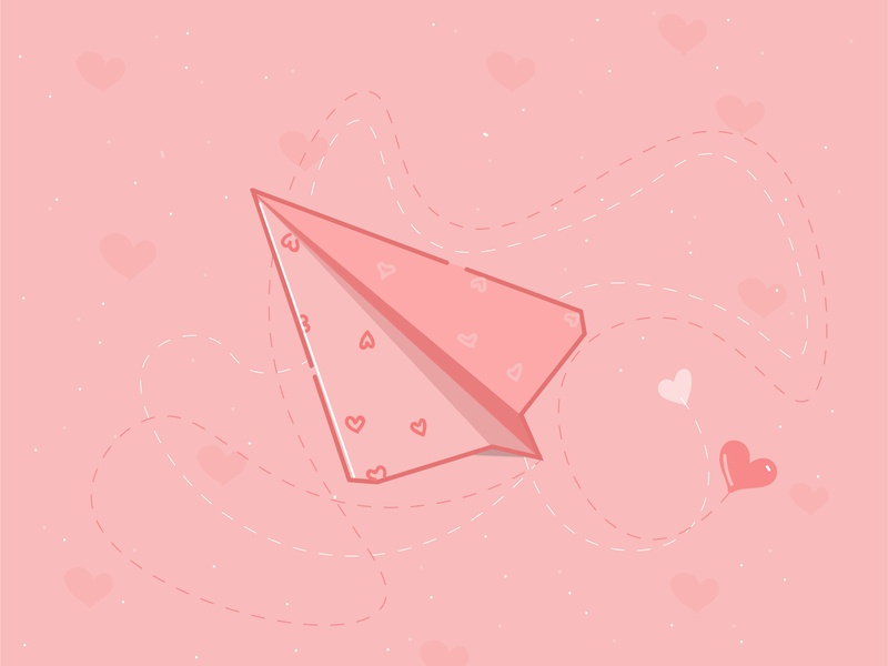 paper plane logo icon flat design vector illustration