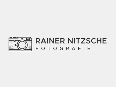 Photography logo custom logo photographer leica photography