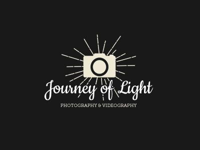 Logo concept for a photographer client work videography camera light logo photography
