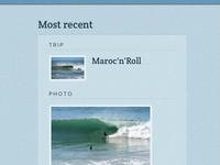 Surf Berbere's most recent