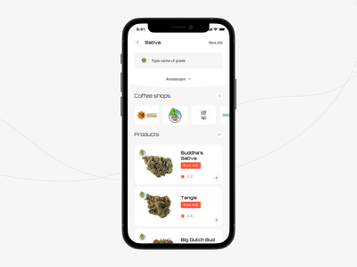 Weliwery - weed delivery service. ganja hemp marihuana marijuana courier weed products delivery service app mobile app booking design ux