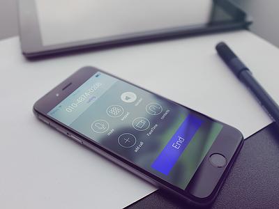ios Air. ios iphone6 iphone6plus apple call gui ui ux