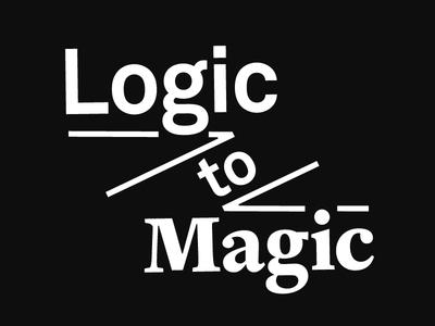 Logic to Magic— Personal Portfolio Preview