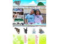 Nori Toy Homepage mockup