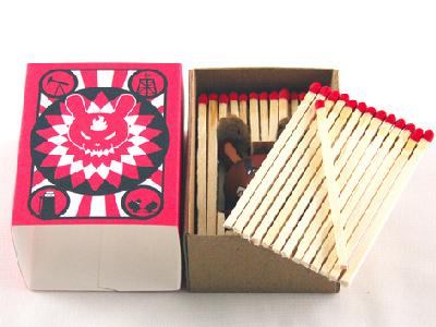 Kfo Package Design hope change resolution tribal spiritual glow toy art toy contrast black character design package package design