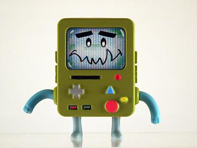 Nori X BMO art toy character design paper craft toy expressions kaiju