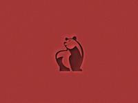 Negative Animal logo