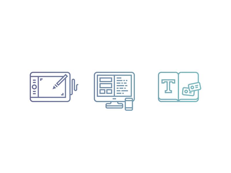 Branding - Web - Print branding web print design icons