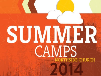 Summer Camps Cover 2 summer camp brochure cover orange northside church