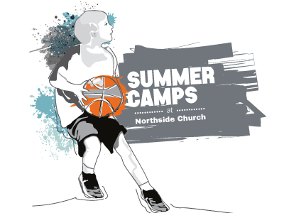 Summer camps 2016 northside church youth sports illustration