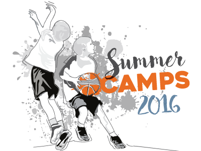 Summer Camps Cover Idea 2 brochure cover northside church youth sports illustration