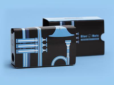 Blue Note VR Headset blue note pattern jazz google cardboard vr headset virtual reality