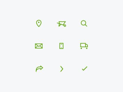 Hatchet Hardware Icons