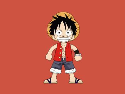 Luffy, One Piece