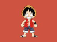 Luffy, One Piece