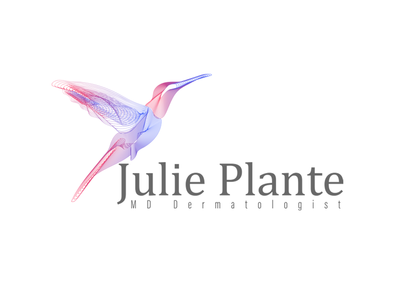 Julie Plante MD Logo web logo desing icon ux ui logo branding vector design adobe illustrator graphic design